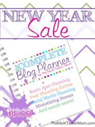 New Year Sale - The Complete Blog Planner